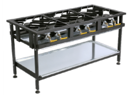 Staggered Gas Boiling Table