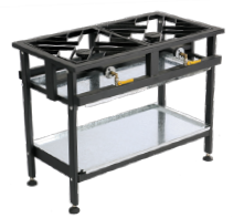 2 Burner Gas Boiling Table