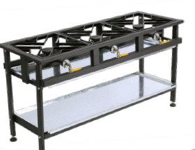 3 Burner Gas Boiling Table
