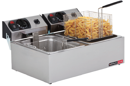 Double Pan Fish Fryer