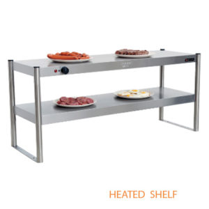 Anvil Tabletop Riser Shelf | Heated Shelf