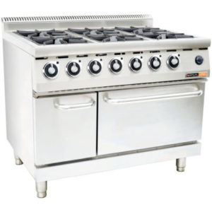 Anvil COA4006 Gas Stove With Electric Oven