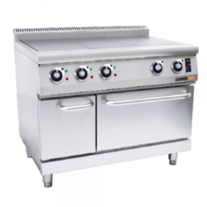 Anvil COA4003 Electric Solid Top Stove With Electric Oven