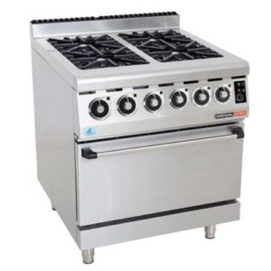 Anvil COA4004 Gas Stove With Electric Oven